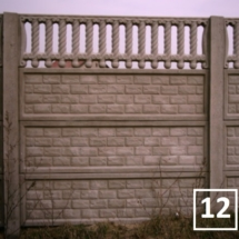 Ogrodzenia betonowe marek reding 12