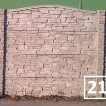 Ogrodzenia betonowe marek reding 21