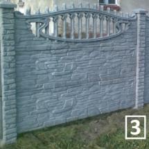 Ogrodzenia betonowe marek reding 3